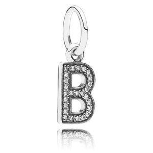 NEW Authentic Pandora Alphabet Letter B Charm